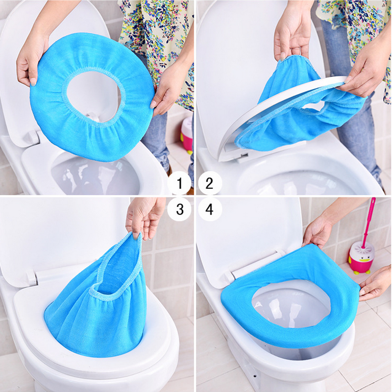1pc Soft Toilet Seat Warmer Bathroom Products Pedestal Pan ...