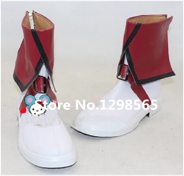 Cute High Earth Defense Club Love! Defense Club Yumoto Hakone Uniform High Boots Shoes Anime Cosplay EU US Size Custom Made