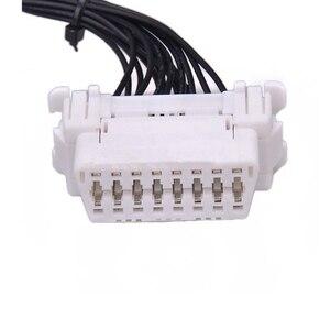 Image 5 - Качество новейший OBD 2 Y сплиттер Удлинительный кабель OBD2 16PIN папа к женскому ELM327 электронный разъем провода
