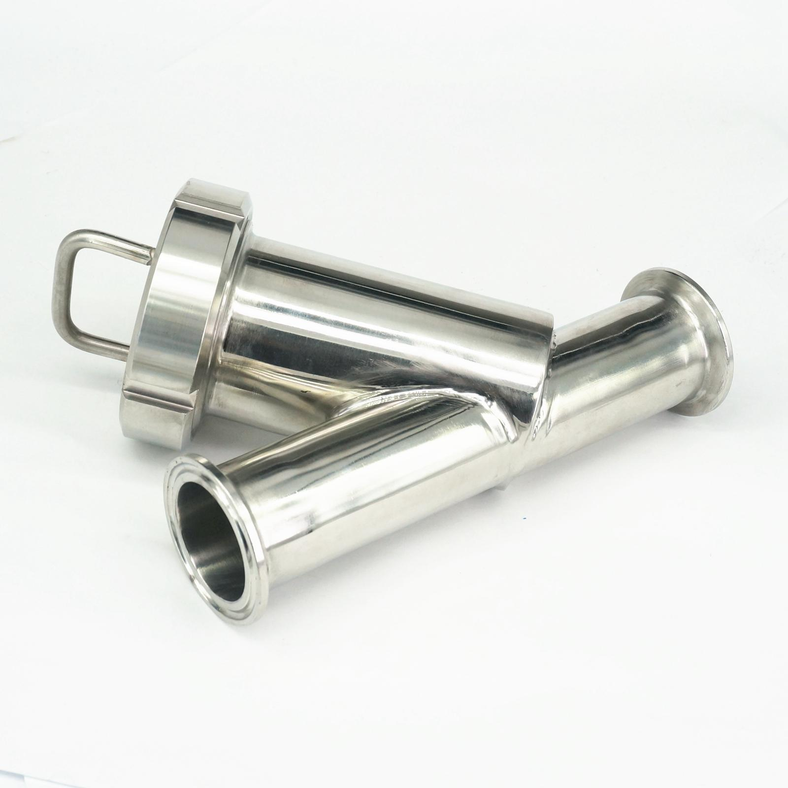 Fit 38mm Pipe OD x 1.5 Tri Clamp SUS304 Sanitary Y Type Strainer Filter Home Brew Wine 1pc 63mm od sanitary check valve tri clamp type stainless steel ss sus 304