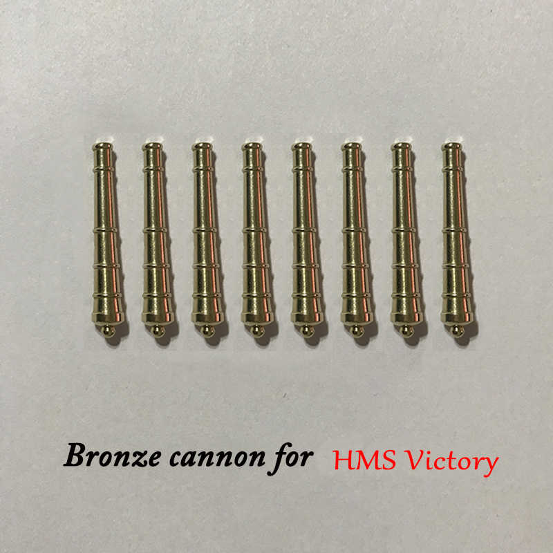 Copper Cannons for Halcon Harvey America NewPort Royal Yacht West HMS Victory Classical Sailing Accessories The Nautical Age