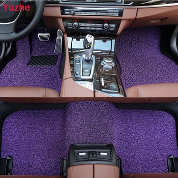 Yuzhe Custom car floor mats for SsangYong Korando Actyon Rexton Chairman Kyron car accessorie car styling auto floor mat