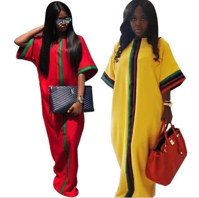 2018 African Dashiki Herbst Und Winter Design Langarm Schöne Kleid Digitaldruck Dünne Kleid Anzug Für Dame Freies Verschiffen