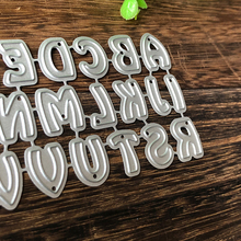Alphabet Letters Metal Cutting Dies for Scrapbooking