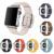 Lujo Moderno Hebilla Banda de Cierre Magnético para la Serie 2 Geniune pulsera correa de cuero para apple watch iwatch primera y segunda 42/38mm