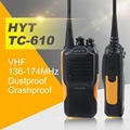 Hytera TC 610 Handle Radio 16 Channel 5W Portable Radio HYT TC-610 136-174MHz  Water-Proof  Walkie Talkie