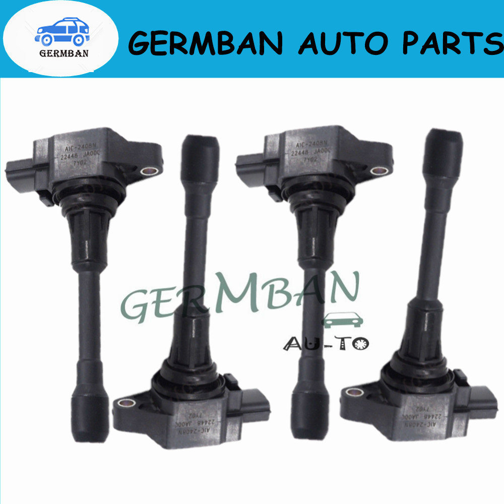 6PCS Ignition Coil for 2008-2012 NISSAN Altima 3.5L 22448ED000 224481KT1A