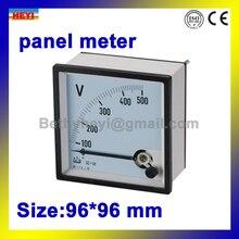 96 mm * 96 mm voltímetro 90 graus SD-T96V series AC DC tensão medidor de painel