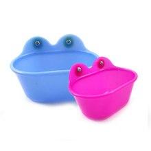 Домашние животные маленькая игрушка для птиц попугай ванна с зеркалом Ванна Душ Чистка чаша TB