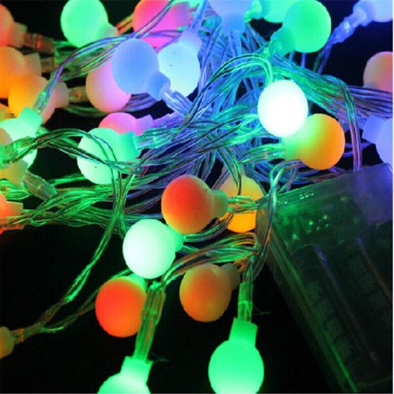 2018 Hot Sale AA батареясы жарық шие шарлары - Мерекелік жарықтандыру - фото 3