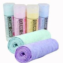 Мягкое банное полотенце для домашних животных чистящие салфетки Волшебные волосы сухое полотенце синтетическая оленья кожа ПВА замшевое полотенце для мойки авто