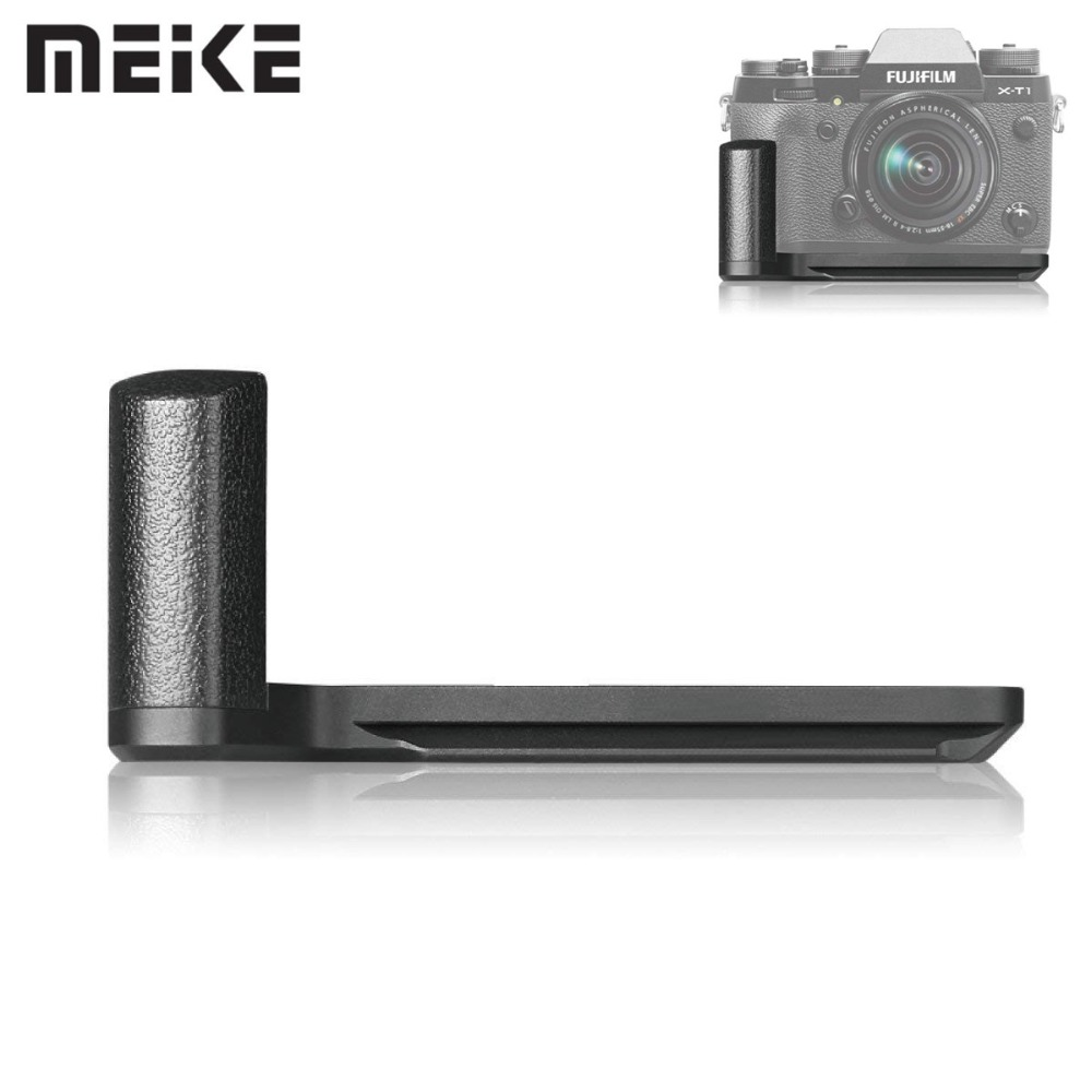 Meike MK-XT1G Handle Metal Hand Grip for Fujifilm X-T1 Digital Mirrorless Camera  With Standard 1/4 Tripod Screw For ShootingMeike MK-XT1G Handle Metal Hand Grip for Fujifilm X-T1 Digital Mirrorless Camera  With Standard 1/4 Tripod Screw For Shooting