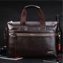 Maleta novos homens da Moda PU Sacos de Ombro de Couro Do Negócio de Qualidade Elegantes Bolsas de Marca Marca Tote Bag for Man XB114(China (Mainland))