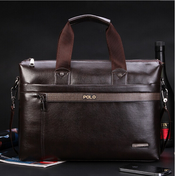 New Fashion Men's Briefcase PU Leather Business Shoulder Bags Quality Stylish Brand Handbags Brand Tote Bag for Man XB114