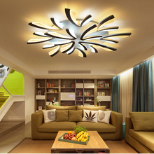 Acrylic Modern ceiling lights for living room bedroom White Simple Plafon led ceiling lamp home lighting fixtures AC85-260V