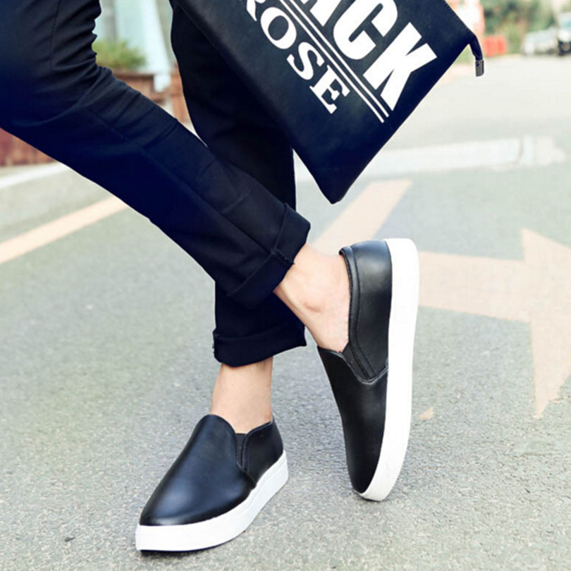 2017 New Casual Men Shoes Spring Autumn Style Flats For Man Lace-Up Men  Casual Shoes Plus Size 38-45 huge creative simulation wings seagull toy feather big white bird gift about 110x60cm