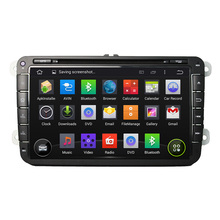Quad Core HD1024*600 8 Inch Android 5.1 Car DVD Player For VW For MAGOTAN CADDY Car Stereo Multimedia Player Free 8GB MAP Card