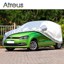 Hatchback L Waterproof Dustproof Car covers for Volkswagen VW Polo Golf 4 7 5 6 Scirocco Opel Astra H J G Chevrolet Aveo Sail