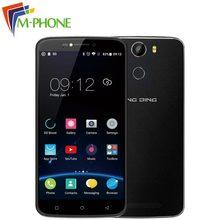 Оригинал DINGDING E6 Мобильный Телефон 6 дюймов 1 ГБ RAM 16 ГБ ROM MT6580A Quad core 720 * 1280px Android 6.0 Смартфон 3 Г Мобильного Телефона
