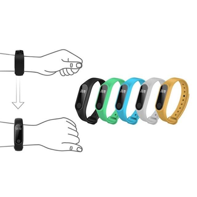 Pedometers Waterproof Bluetooth Smart Band Running Sport Fitness Wristband Sleep Monitor Intelligent OLED Touchpad Heart Rate