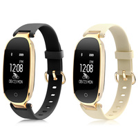 S3 Heart Rate Monitor Remote Camera Healthy Fashion Women Smart Bracelet IP67 Waterproof Pedometer Calories Smartband