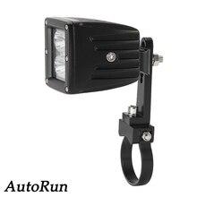 2x 2 HID Mounting Brackets Clamps for Bullbar Rigid Led Light Bar OFF ROAD ATV