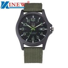 xi luxury outdoor sports men's watch calendar date mens steel analog quartz watch military army wrist watches