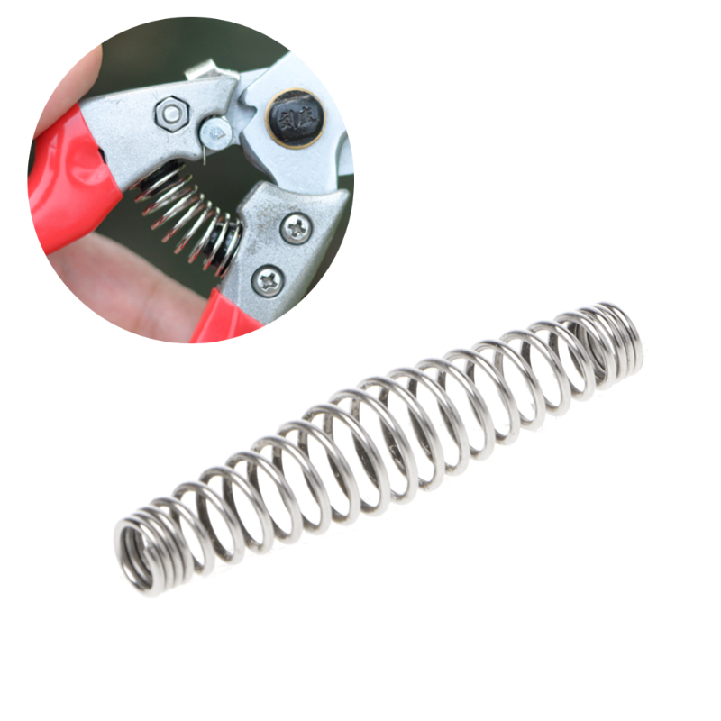 Garden Hand Tools 10pcs V Shape Steel Compression Spring Gardening Scissors Accessories Tool #sep.08