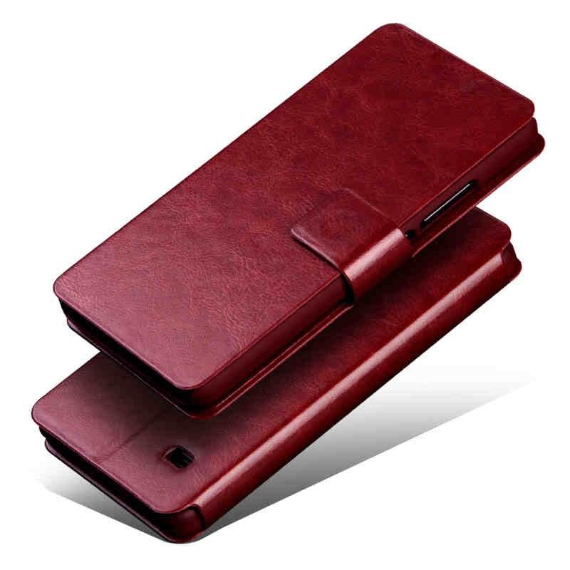 Moda de Lujo Del Caso Del Tirón Para LG Optimus L65 L70 D325 MS323 D329 D320N D2