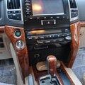 16PCS Interior Wooden Board Penals For Toyota Land Cruiser 200 FJ200 Accessories 2008-2015