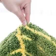 Anti Slip Green Leaves Shaped Carpets
