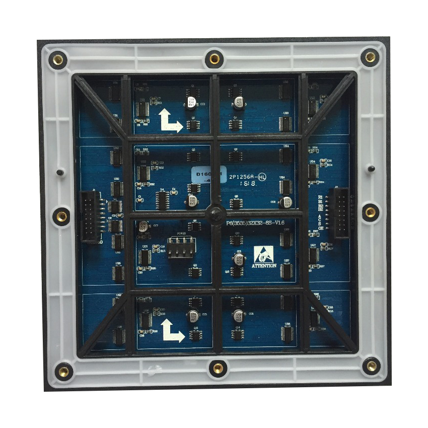 Waterproof RGB P6 SMD 32*32Pixels 1/8S Full Color Outdoor LED Display Module 192*192mm For LED Video Wall Billboard