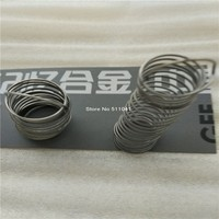 Nitinol Shape Memory Alloy Springs Nickel Titanium Memory Alloy Spring Paypal Is Available