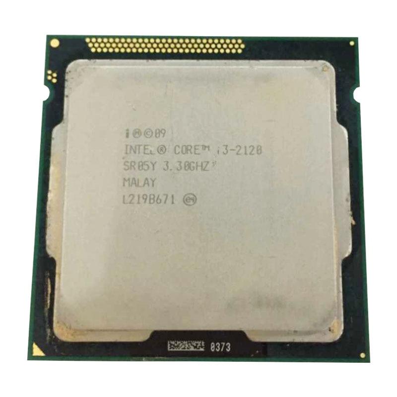 INTER DUAL CORE I3 2120 Cpu 3.3ghz 3M Cache LGA 1155 TDP 65W Desktop Processor Can Use B75 B85 Z77 H61 MOTHERBOARD