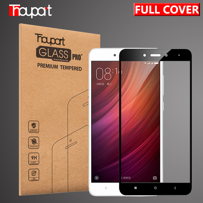 Thouport Full Tempered Glass For Xiaomi Redmi Note 4 Global Version Screen Protector Protective Film Redmi Note4 Glass-in Phone Screen Protectors from Cellphones & Telecommunications