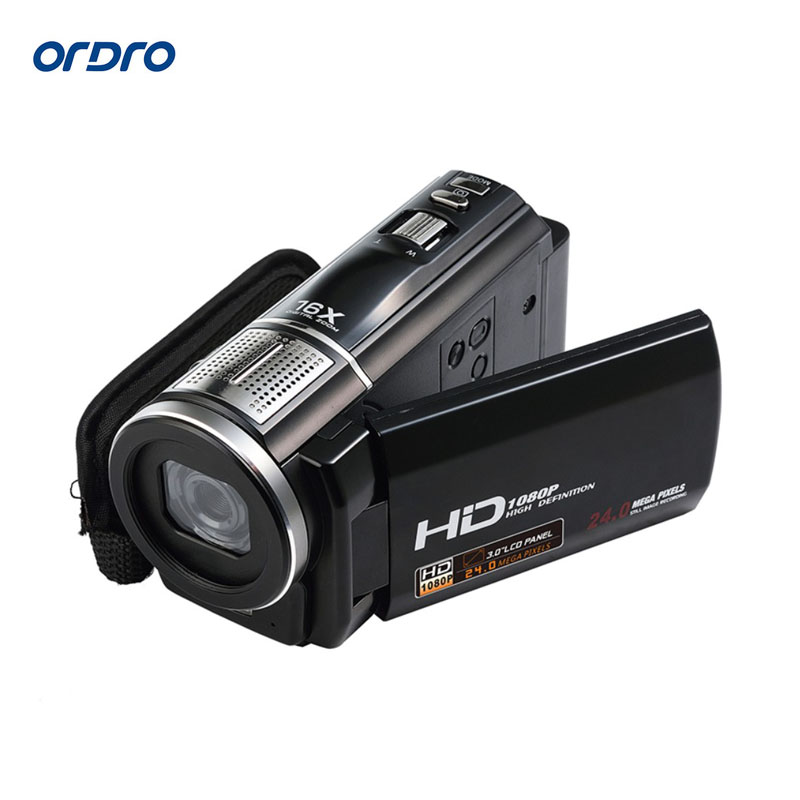 Digital Camera Full HD 1080P 16X Digital Zoom DV Camcorder 24MP Full HD Video Recorder Anti-shake 3.0 Rotatable Touch Screen