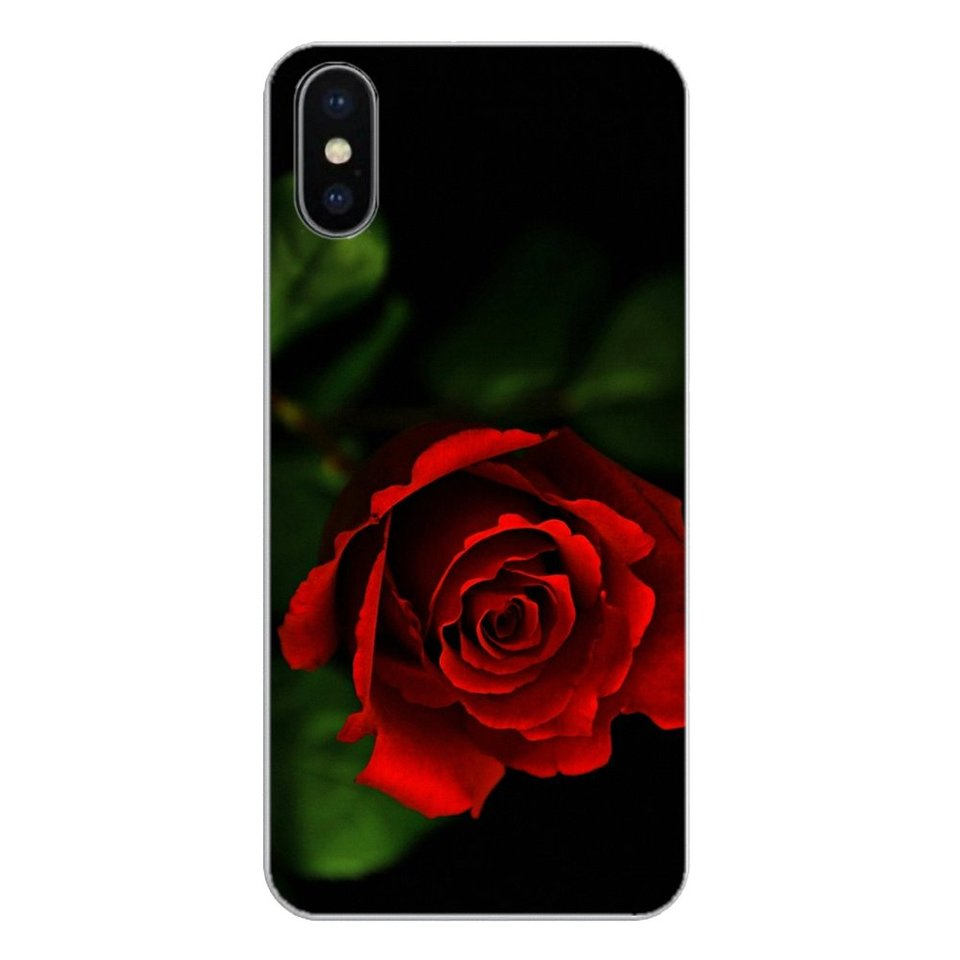 Red Rose Flowers Hd Wallpaper For Samsung Galaxy Note 8 9 S9 S10 A8 A9 Star Lite Plus A6s A9s Soft Transparent Shell Covers Fitted Cases Aliexpress