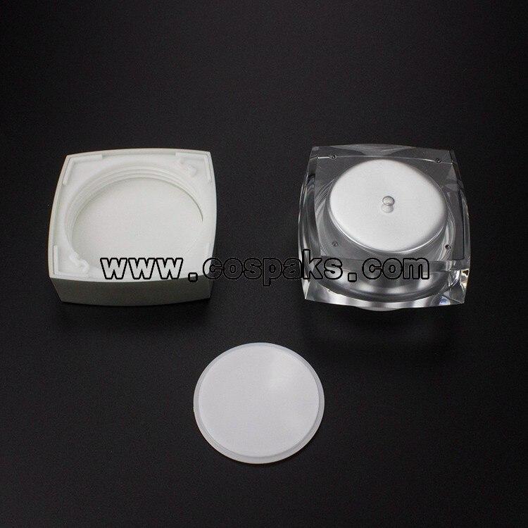 acrílico cosméticos recipientes vazios