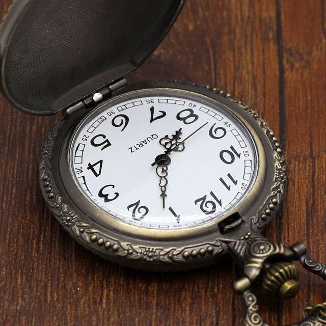 Anime One Piece Pocket Watch Necklace Watch