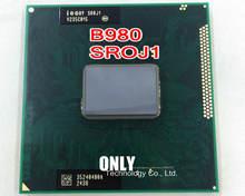 Бесплатная доставка, оригинальный ЦП intel Pentium SR0J1 B980 SROJ1 B980 2,4G/2M HM65 HM67
