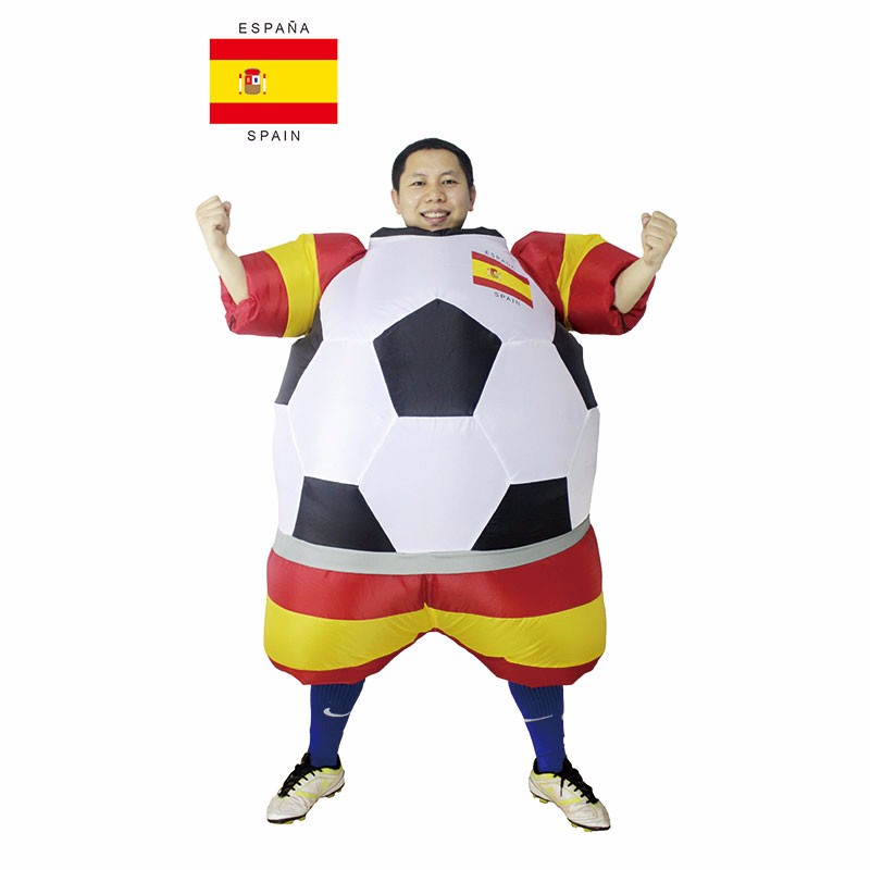 Adult Football Costumes World Cup Inflatable Outfit s Fancy Dress Blow Up Suits (1)