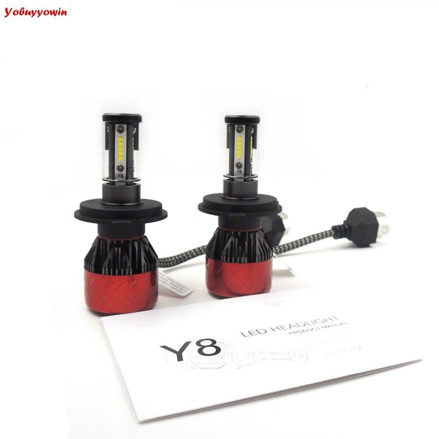 High Quality H4 LED Headlight Conversion Kit ( DOT Approved ) 160W- 20x CSP LED Chips Dual Hi/Lo Beam Bulbs - H4/HB2/9003 bulbs