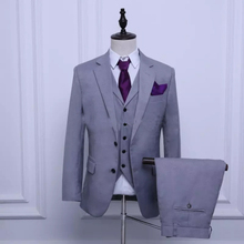 Custom-made Groom Tuxedos  Custom Made Best Man Suit WeddingMen Suits Bridegroom (Jacket+Pants+Tie+Vest) suit men tuxedo