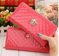 Ladies long wallet purse hand clutch bag zipper Fashion  cell phone bag