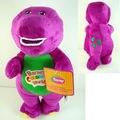 """1 шт./лот 11 """" / 30 см музыкальный фиолетовый динозавр барни плюшевые игрушки ребенка динозавра петь песни хорошие игрушки куклы для детей дети подарок"""