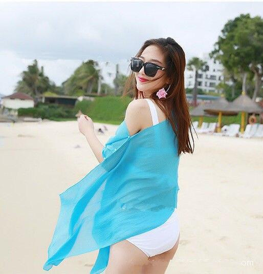 Beachwear bikini swimwear cover up 4