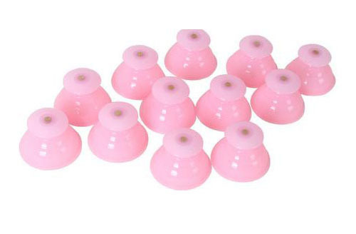 12pcs Silicone Cupping Cups Clearing Damp Body Massage Helper Suction Treatment Anti Cellulite Slimming Health Care Therapy 1pcs tomato massage cups anti cellulite vacuum suction silicone body pain relax helper cute tomatoes relieve pain cups c1326