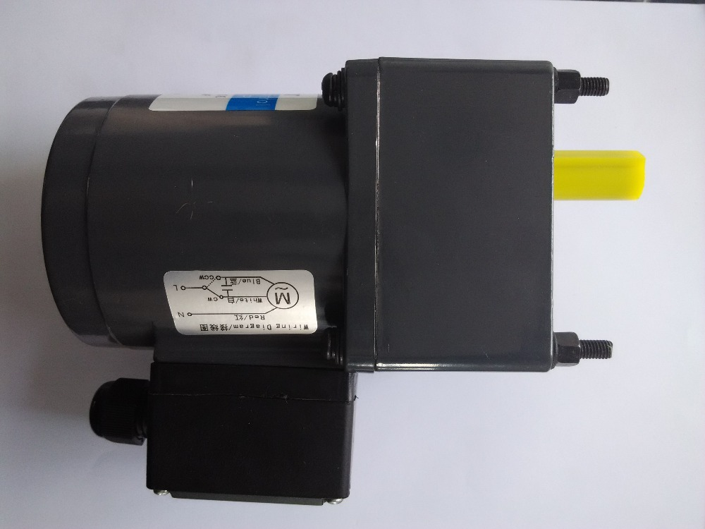 90W  Terminal box AC induction gear motors 50hz single-phase 220v 37.5rpm ratio 36:1 total 4 pcs send to Russia by EMS 120w 12v dc brush motor rohs ce square gear head ration 40 1 for 4 motors and 4 flange brackets total 8 pcs send to australia