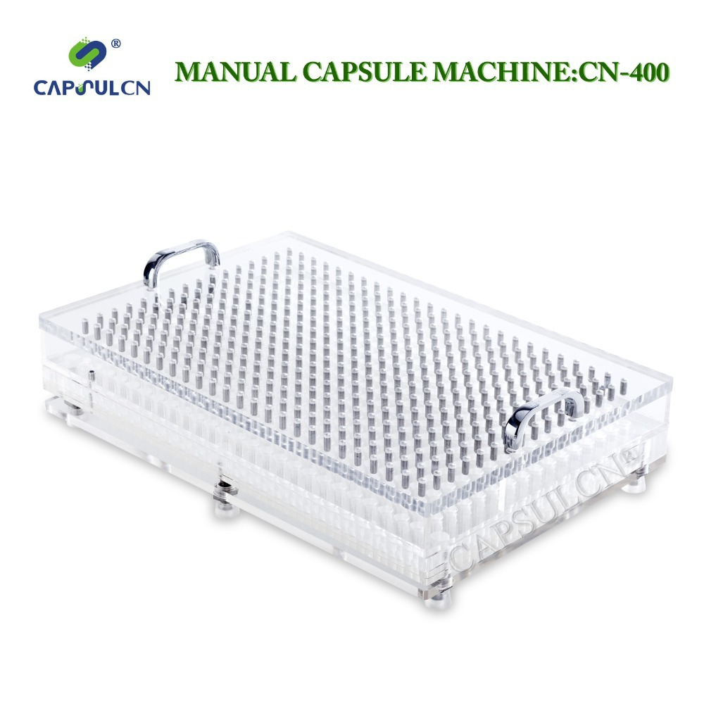CN-400CL size 5 (400 holes)capsule holder/capsule filling machine with perfect precision/suitable for separated capsule