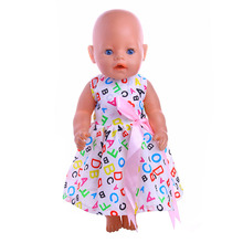 Doll Accessories 43cm Reborn Baby Doll Clothes 18 inch American Doll Pajamas Christmas Gifts Children s